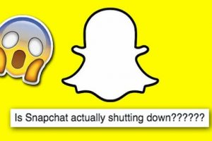 when is snapchat shutting down