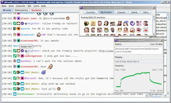 how to check chat logs twitch