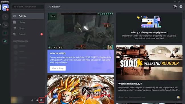 mic not working on discord
