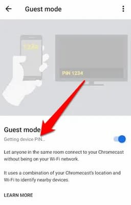 chromecast without wifi android