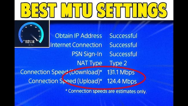 best mtu for ps4