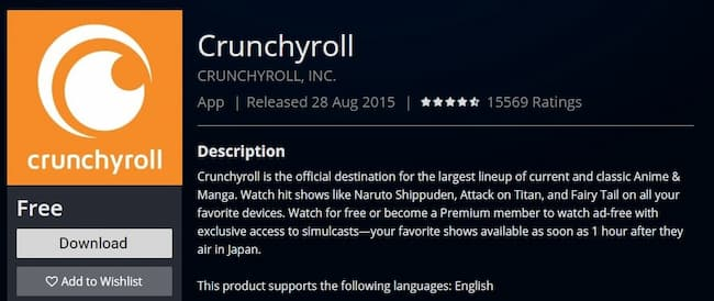 how to activate crunchyroll on Playstation
