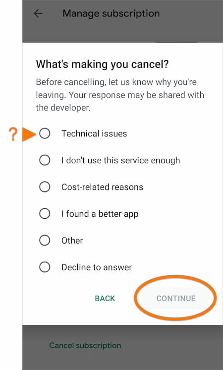 how to stop avast subscription