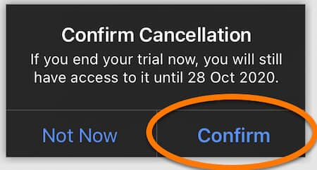 how to cancel avast trial subscription