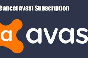 how to cancel avast subscription