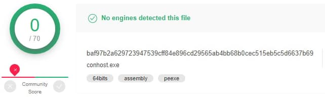 what is conhost.exe