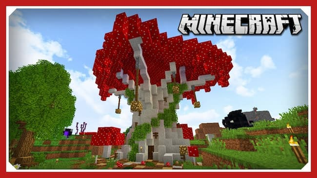 how to grow mushrooms in minecraft